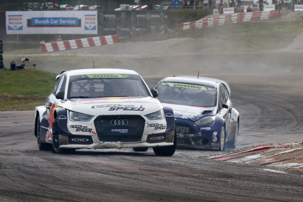 2014 FIA World Rallycross Championship Round 05 H?ljes, Sweden 5th & 6th July 2014 Mattias Ekstrom, Audi, action Worldwide Copyright: McKlein/LAT