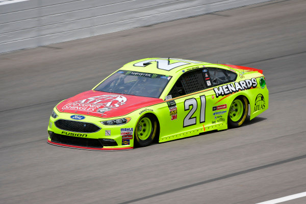 #21: Paul Menard, Wood Brothers Racing, Ford Fusion Menards / Atlas