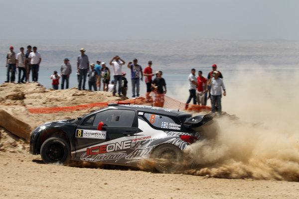 Round 04 Rally Jordan. 14th-16th April 2011.Kimi Raikkonen, Citroen WRC, Action.Worldwide Copyright: McKlein/LAT
