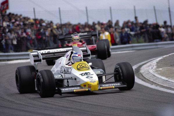 Keke Rosberg, Williams FW09 Honda.