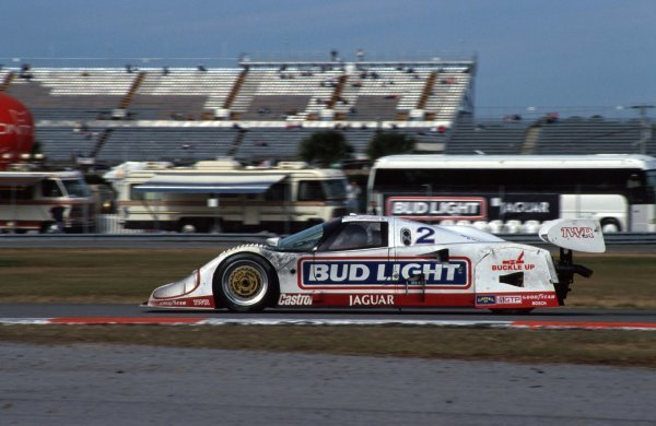 Scott Goodyear (CDN) TWR Jaguar XJR-12D, 2nd place.