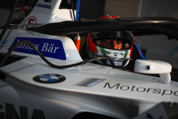 Antonio Felix da Costa (PRT), BMW I Andretti Motorsports, BMW iFE.18 in the garage