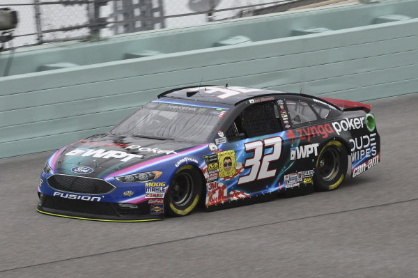 #32: Matt DiBenedetto, Go FAS Racing, Ford Fusion Zynga Poker