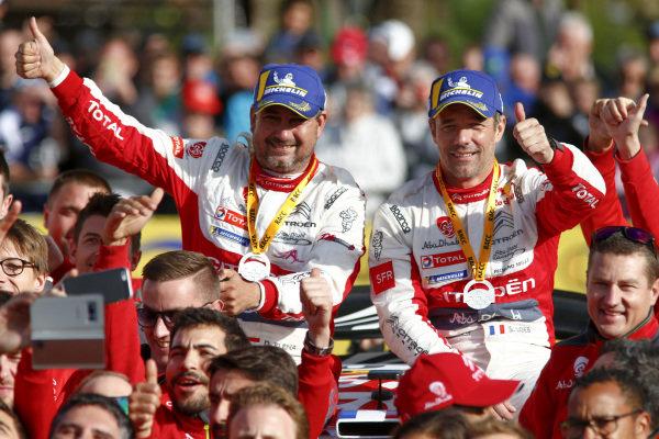 Sébastien Loeb, Daniel Elena, Citroen Racing, Citroën C3 WRC, winners of Rally Spain 2018