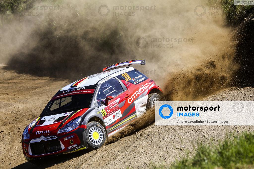 Simone Tempestini (ITA) / Giovanni Bernacchini (ITA), Citroen DS3 WRC2 at World Rally Championship, Rd6, Rally Portugal, Day One, Matosinhos, Portugal, 19 May 2017.