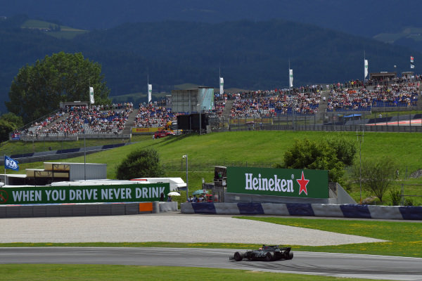 Kevin Magnussen (DEN) Haas VF-17 at Formula One World Championship, Rd9, Austrian Grand Prix, Practice, Spielberg, Austria, Friday 7 July 2017.
