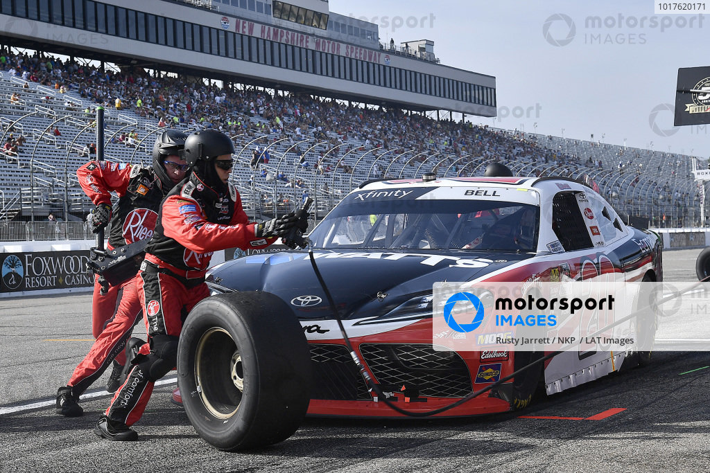 #20: Christopher Bell, Joe Gibbs Racing, Toyota Supra Rheem-Watts