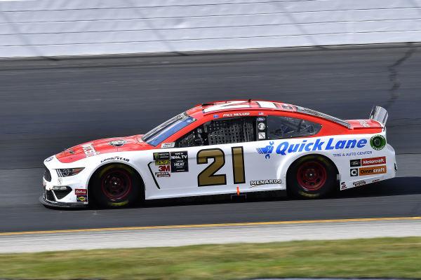 #21: Paul Menard, Wood Brothers Racing, Ford Mustang Motorcraft / Quick Lane Tire & Auto Center