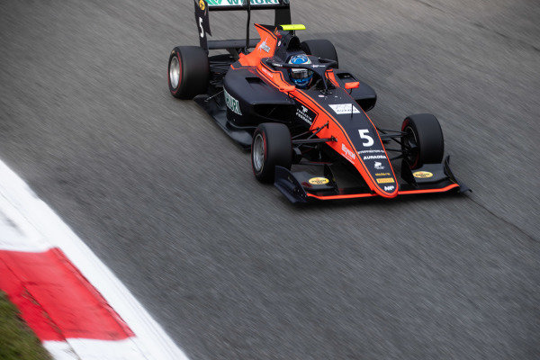 AUTODROMO NAZIONALE MONZA, ITALY - SEPTEMBER 06: Simo Laaksonen (FIN, MP Motorsport) during the Monza at Autodromo Nazionale Monza on September 06, 2019 in Autodromo Nazionale Monza, Italy. (Photo by Joe Portlock / LAT Images / FIA F3 Championship)