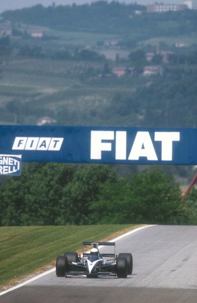 1990 San Marino Grand Prix.Imola, Italy.11-13 May 1990.David Brabham (Brabham BT59 Judd). He failed to qualify.Ref-90 SM 12.World Copyright - LAT Photographic