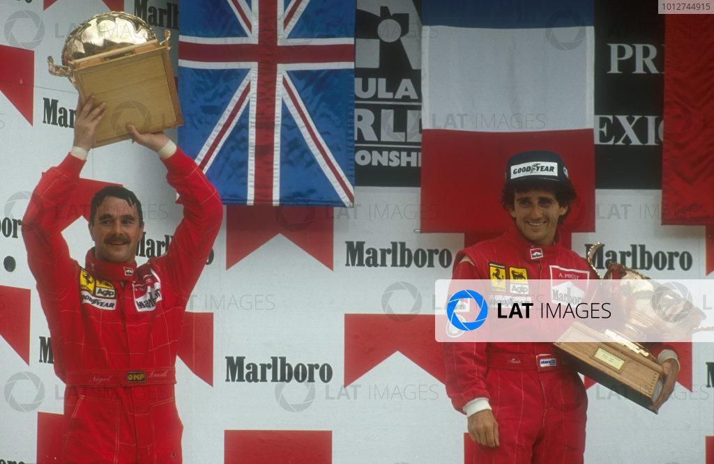 1990 Mexican Grand Prix.