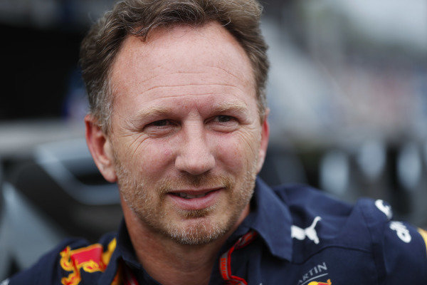 Christian Horner, Team Principal, Red Bull Racing.