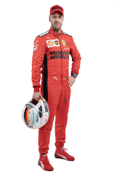 Sebastian Vettel, Ferrari. Note to editors: Copyright Ferrari, editorial use only