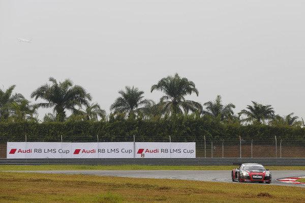 Thomas Fjordbach (DEN) Federal-Mogul Motorparts Racing Team at Audi R8 LMS Cup, Rd4, Sepang, Malaysia, 4-6 September 2015.