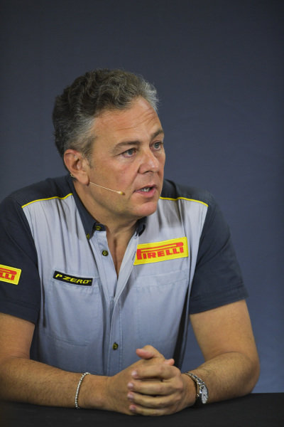 Mario Isola, Racing Manager, Pirelli Motorsport in Press Conference for new F2 tyres