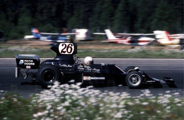 Alan Jones (AUS) Custom Made Harry Stiller Racing Hesketh 308B finished eleventh. Swedish Grand Prix, Anderstorp, 8 June 1975. BEST IMAGE