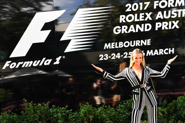 Brooke Hogan (AUS) Model at Formula One World Championship, Rd1, Australian Grand Prix, Race, Albert Park, Melbourne, Australia, Sunday 26 March 2017.