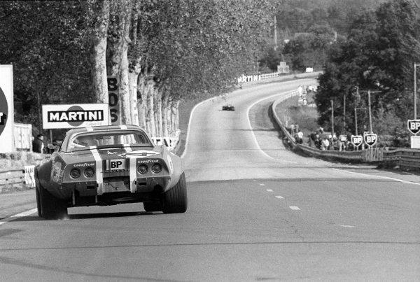 Dave Heinz (USA) / Bob Johnson (USA) North American Racing Team Chevrolet Corvette ZL1.Le Mans 24 Hours, Le Mans, France, 11 June 1972.