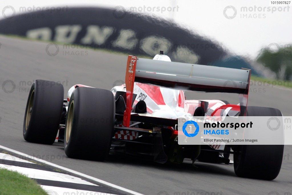 Yelmer Buurman (NED) PSV Einhoven Superleague Formula Testing, Donington Park, England, 28 August 2008.