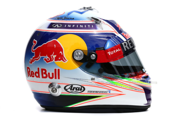 Albert Park, Melbourne, Australia. Helmet of Daniel Ricciardo, Red Bull Racing.  Thursday 12 March 2015. World Copyright: LAT Photographic. ref: Digital Image 2015_Helmet_044