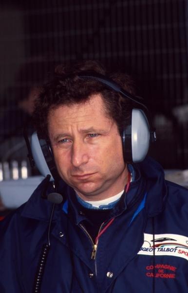 Former Peugeot and present Ferrari Sporting  Director, Jean Todt. (FRA) 1992