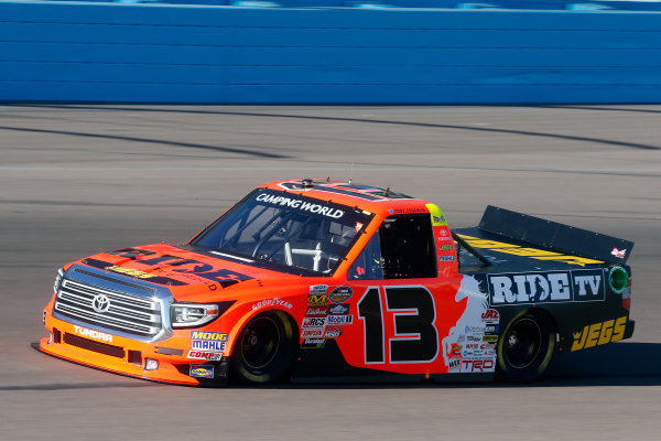 NASCAR Camping World Truck Series  Lucas Oil 150 Phoenix Raceway, Avondale, AZ USA Friday 10 November 2017 Cody Coughlin, Ride TV/ Jegs Toyota Tundra World Copyright: Lesley Ann Miller LAT Images