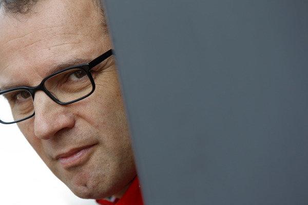 Hungaroring, Budapest, Hungary29th July 2012Stefano Domenicali, Team Principal, Scuderia Ferrari. World Copyright:Charles Coates/LAT Photographicref: Digital Image _X5J6939