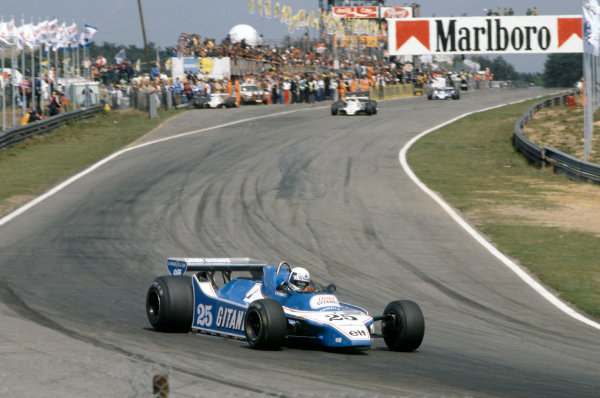 Zolder, Belgium. 2-4 May 1980. Didier Pironi, Ligier JS11/15-Ford Cosworth, 1st position. World Copyright: LAT Photographic. Ref: 80BEL11