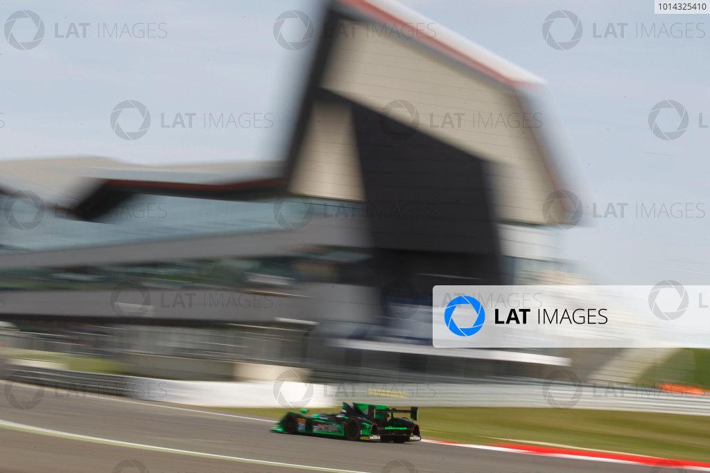 2015 FIA World Endurance Championship, Silverstone, England. 10th-12th April 2015 Ed Brown (USA) David Brabham (AUS), Jon Fogarty USA) HPD ARX 04B - HPD World copyright. Ebrey/LAT Photographic