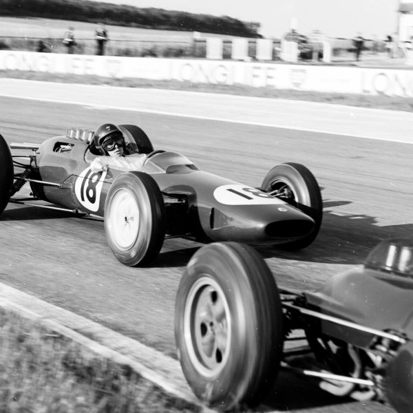 1963 French Grand Prix Reims, France 28-30 June 1963 Jim Clark (Lotus 25 Climax) 1st position Ref-20133 World Copyright - LAT Photographic