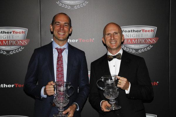 2018 WeatherTech Night of Champions, #33 Riley Motorsports Mercedes AMG GT3, GTD: Jeroen Bleekemolen, Ben Keating,