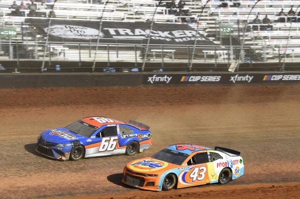 #43: Erik Jones, Richard Petty Motorsports, Chevrolet Camaro Tide/Food City, #66: Mike Marlar, Motorsports Business Management, Toyota Camry Auto Parts For Less
