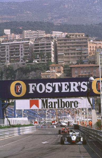 International F3000 MonacoMonte Carlo, Rd 5, 2nd - 3rd june 2000.Stephan Sarrazin's race was ended when he clashed with Ricardo Mauricio.World - Bellanca/ LAT PhotographicThree Thousand Monaco