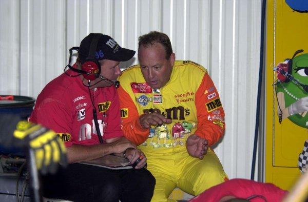 2001 NASCAR Pocono June 17 2001 USAKen Schrader,-Robert LeSieur 2001LAT Photographic