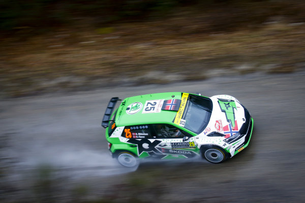 Andreas Mikkelsen (NOR), Toksport WRT, Skoda Fabia Evo Rally2