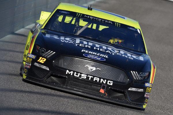 #12: Ryan Blaney, Team Penske, Ford Mustang Menards/Richmond