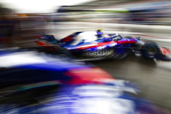Pierre Gasly, Toro Rosso STR13 Honda.