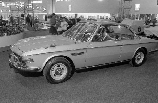BMW 2800CS coupe.