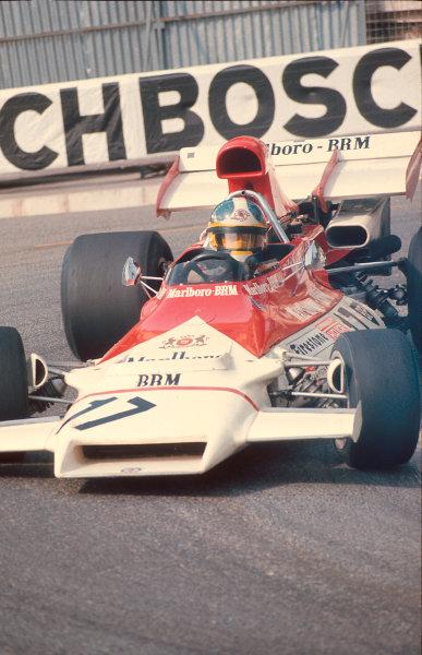 1972 Monaco Grand Prix.Monte Carlo, Monaco.11-14 May 1972.Jean Pierre Beltoise (BRM P160B Ford) 1st position.  World Copyright - LAT Photographic