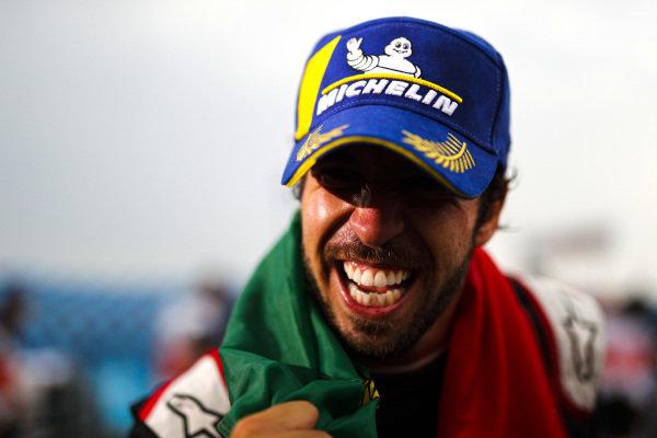 Antonio Félix da Costa (PRT), DS Techeetah, DS E-Tense FE20, wins the Formula E Championship