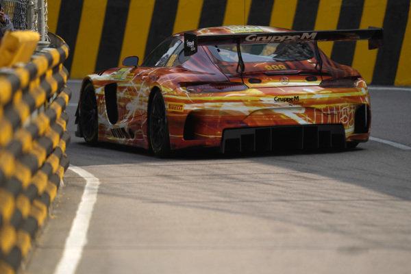 #888 Mercedes-AMG Team GruppeM Racing Mercedes AMG GT3: Maro Engel.
