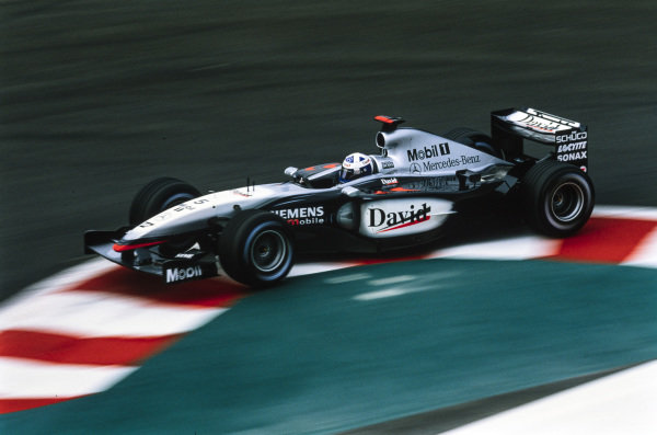 David Coulthard, McLaren MP4-17D Mercedes.