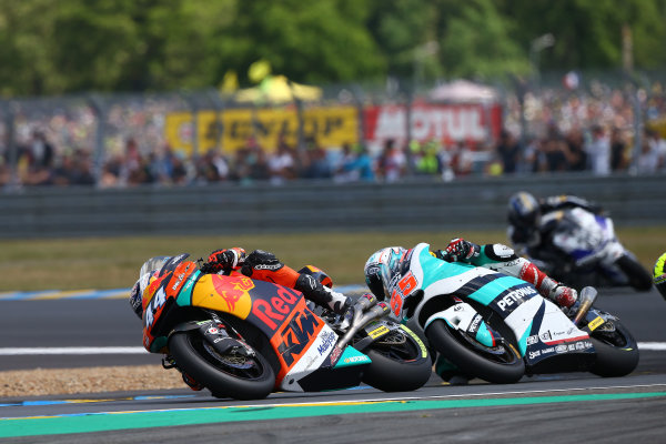 2017 Moto2 Championship - Round 5 Le Mans, France Sunday 21 May 2017 Miguel Oliveira, Red Bull KTM Ajo World Copyright: Gold & Goose Photography/LAT Images ref: Digital Image 671777