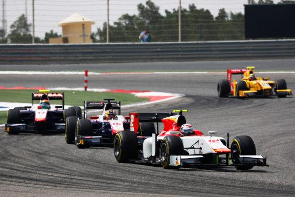 2017 FIA Formula 2 Round 1. Bahrain International Circuit, Sakhir, Bahrain.  Saturday 15 April 2017. Stefano Coletti (MON, Campos Racing)  Photo: Zak Mauger/FIA Formula 2. ref: Digital Image _W6I0300
