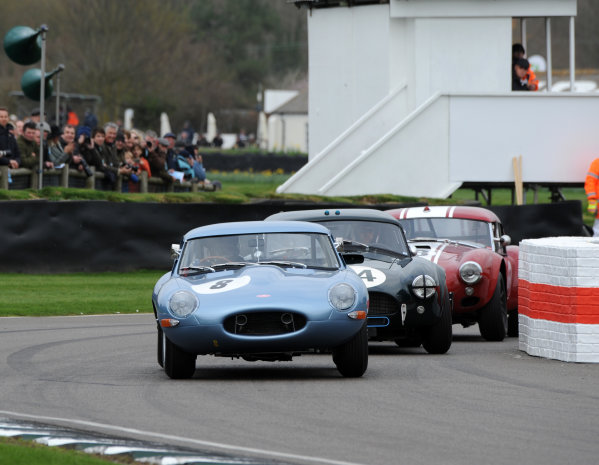 2017 75th Members Meeting Goodwood Estate, West Sussex,England 18th - 19th March 2017 Graham Hill Trophy Khan Brelow E-Type Continuation World Copyright : Jeff Bloxham/LAT Images Ref : Digital Image