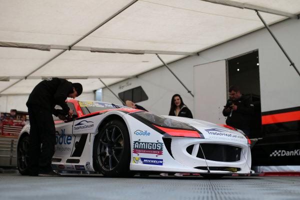 2017 Ginetta GT4 Supercup,  Brands Hatch, 1st-2nd April 2017 Dan Kirby Team HARD Ginetta G55g World Copyright. JEP/LAT Images