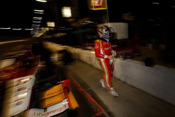 2017 IndyCar Media Day - Track Action Phoenix Raceway, Arizona, USA Saturday 11 February 2017 Marco Andretti World Copyright: Michael L. Levitt/LAT Images ref: Digital Image _AT_4121