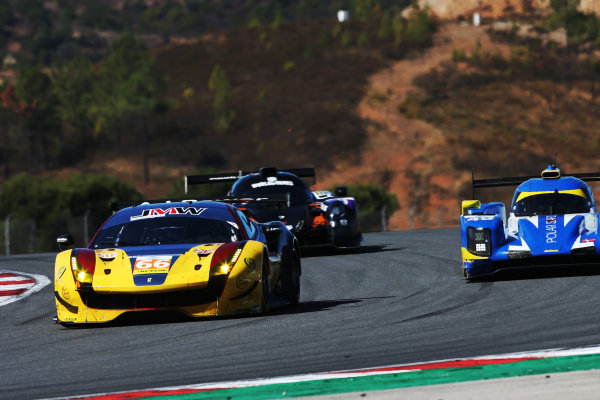 2017 European Le Mans Series, Portimao, Potugal. 20th-22nd October 2017 #66 Robert Smith (GBR) / Jody Fannin (GBR) / William Stevens (GBR) JMW Motorsport Ferrari F488 GTE World copyright. JEP/LAT Images