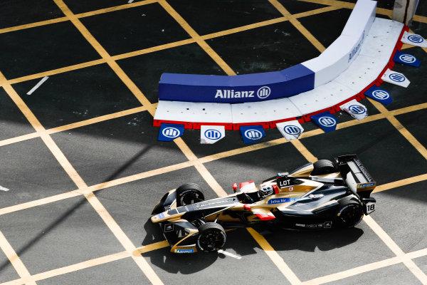 2017/2018 FIA Formula E Championship. Round 1 - Hong Kong, China. Saturday 02 December 2017.Andre Lotterer (BEL), TECHEETAH, Renault Z.E. 17. Photo: Alastair Staley/LAT/Formula E ref: Digital Image _ALS5952
