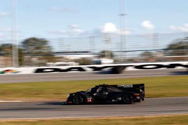 2017 WeatherTech Sportscar Championship December Daytona Testing Wednesday 6 December 2017 #54 CORE autosport ORECA LMP2: Jon Bennett, Colin Braun  World Copyright: Alexander Trienitz/LAT Images  ref: Digital Image 2017-IMSA-Test-Dayt-AT2-1049